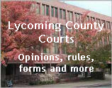 Lycoming County Courts